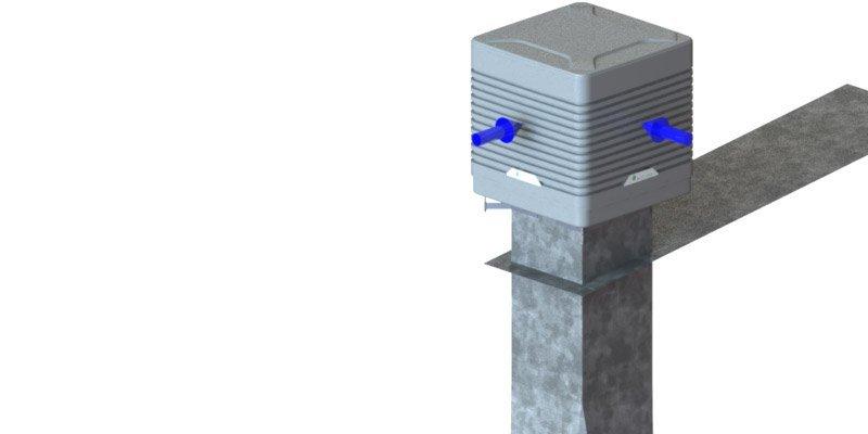 Evaporative Cooling External EcoCooler – Large