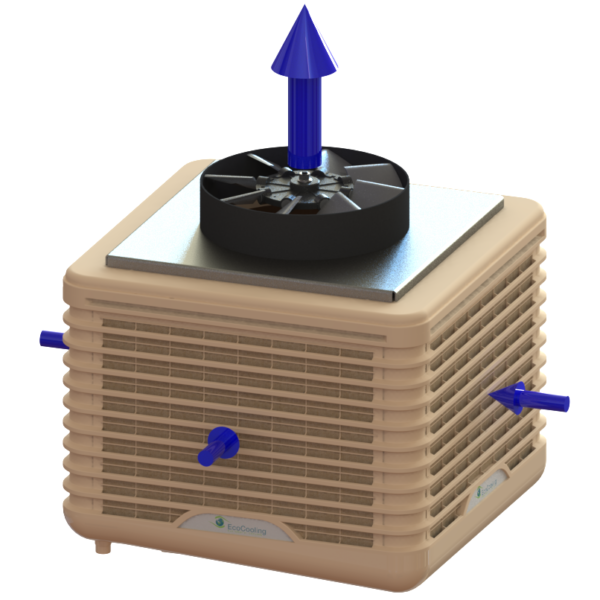 Evaporative Cooling - External EcoCooler – Small