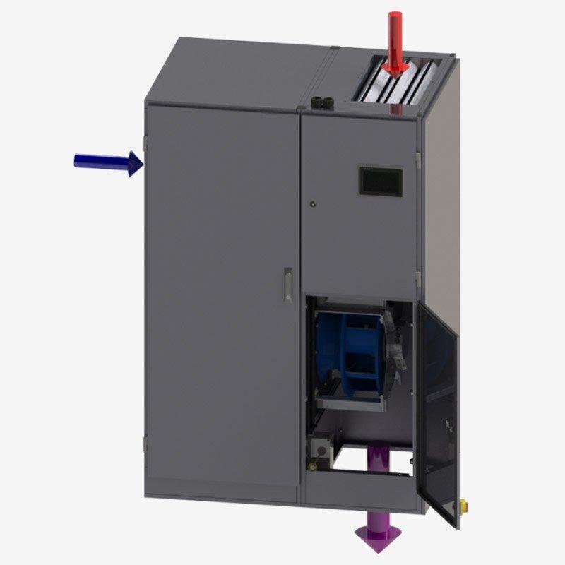 Evaporative Cooling Internal Evaporative Cooler – ECT5400