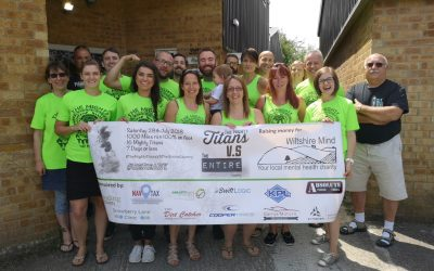 Proud to sponsor charity challenge in aid of Wiltshire Mind